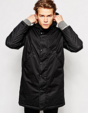 Jackor - Edwin Hooded Fishtail Parka Padded Lining