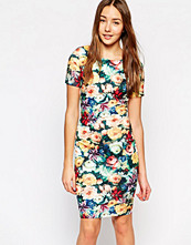 Paper Dolls Paperdolls Floral Print Bodycon Dress
