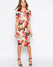 Paper Dolls Pencil Dress in Large Bloom