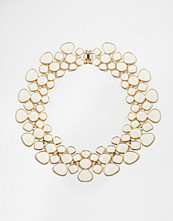 Paper Dolls Articulated Enamel Collar Necklace