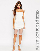 ASOS PETITE Premium Bandeau Bodycon Dress in Scuba