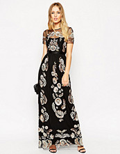 Needle & Thread Petal Frame Embellished Maxi Dress