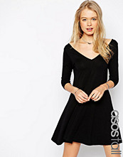 Asos Tall Skater Dress with V Front and V Back