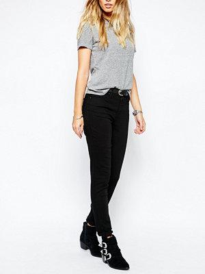Levi's 721 Skinny jeans med hög midja Svart får