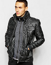 Jackor - Barneys Originals Barneys Faux Leather Double Layer Jacket