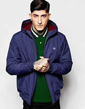 Jackor - Fred Perry Sailing Jacket with Insulation In Blue