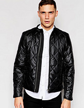 Jackor - G-Star Quilted Jacket Attacc Black Nylon