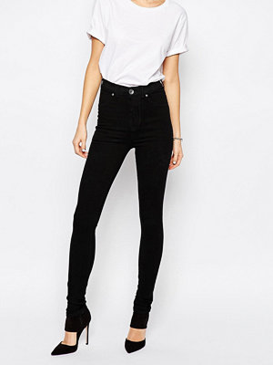 Dr. Denim Solitaire Superskinny jeans med hög midja