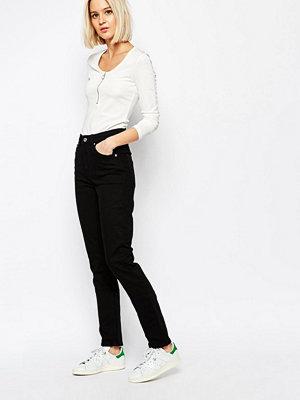 Weekday Way Jeans med hög midja och smala ben