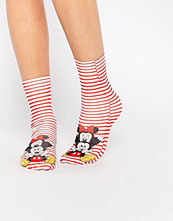 Strumpor - ASOS Disney Minnie And Mickey Mouse Ankle Socks