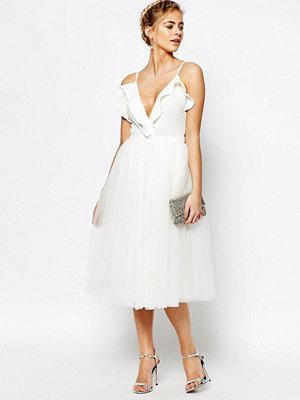 Little Mistress Midi Tulle Prom Skirt