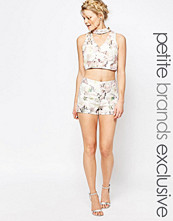 Shorts & kortbyxor - True Decadence Petite Floral Jacquard Tailored Shorts