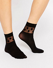 Strumpor - Gipsy Daisy Ankle High Two Pack Socks