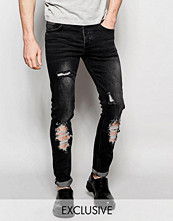 Jeans - Sixth June Skinny Jeans With Distressing