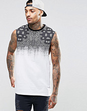 Linnen - ASOS Sleevelss T-Shirt With Bandana Print And Dropped Armhole