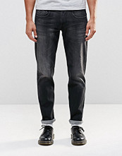 Jeans - Replay Anbass Slim Jeans Stretch Washed Black