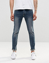 Jeans - Only & Sons Jean In Stretch Slim Fit And Vintage Wash