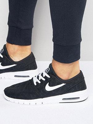 Nike Sb Stefan Janoski Max Trainers In Black 631303-010