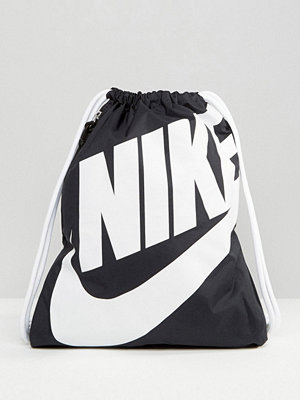 Nike ryggsäck Heritage Black Drawstring Backpack