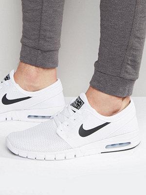 Nike Sb Stefan Janoski Max Trainers In White 631303-100