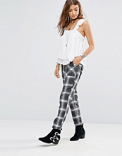 Byxor - Free People Utility Trousers In Plaid