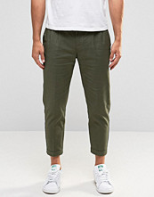 Byxor - Selected Homme Cropped Chinos with Stretch