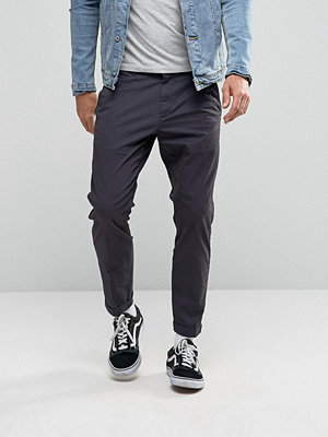 Byxor - Dr Denim Diggler Tapered Chino With Turn Up