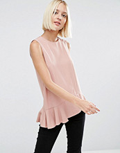 Linnen - ASOS Sleeveless Top With Asymmetric Hem
