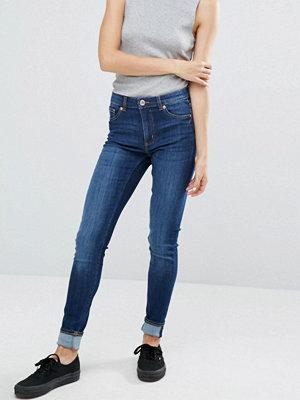 Monki Mid-Rise Straight Leg Jean