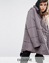 Kappor - Puffa Oversized Over Head Half Zip Jacket
