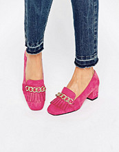 Pumps & klackskor - ASOS SYMBOLIC Heeled Loafers
