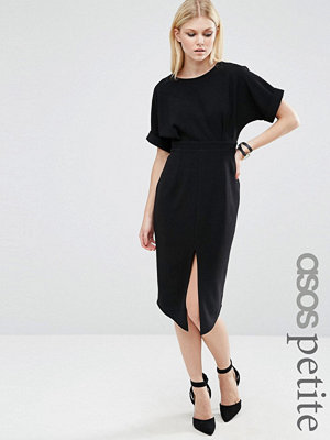 ASOS PETITE Wiggle Dress with Split Front