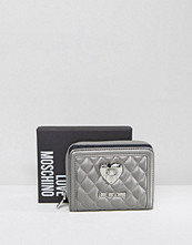 Plånböcker - Love Moschino Quilted Small Zip Purse