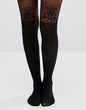 Leggings & tights - Gipsy Baroque Detail Suspender Tights
