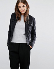 Jackor - Vero Moda Borg Collar Denim Jacket