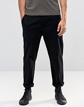 Byxor - Lindbergh Chino With Drop Crotch In Black
