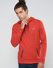 Street & luvtröjor - Hollister Overhead Hoodie Seagull Logo In Red