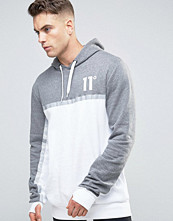 Street & luvtröjor - 11 Degrees Panel Hoodie With Reflective Strip