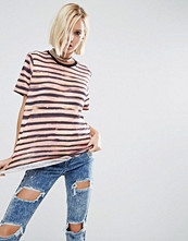 T-shirts - ASOS T-Shirt In Broken Stripe