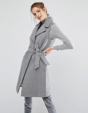 Kappor - Oasis Sleeveless Belted Smart Coat