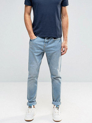 Jeans - Pull&bear Slim Jeans In Light Wash