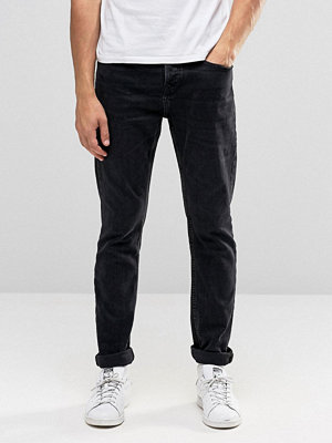 Jeans - Pull&bear Slim Jeans In Washed Black