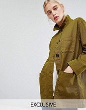 Jackor - Monki Utility Shacket