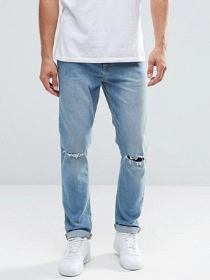 Jeans - ASOS Skinny Jeans With Knee Rips