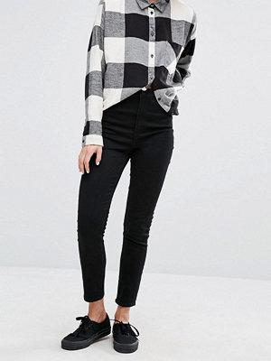 Monki Oki Premium skinny jeans med hög midja