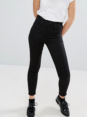Monki Oki Cropped Skinny High Waisted Jeans