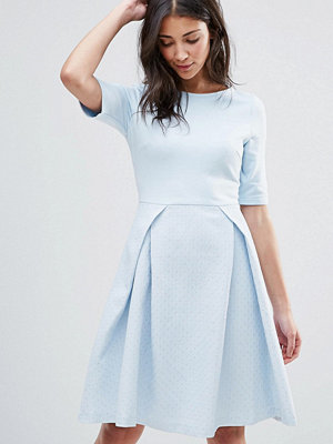Traffic People Pleated Skater Dress