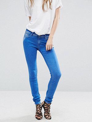 Replay Luz Skinny jeans med medelhög midja 009 mid blue