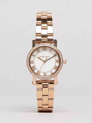 Michael Kors Rose Gold Petit Noire Watch MK3558