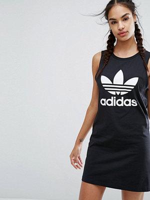 Adidas Originals Black Trefoil Tank Dress